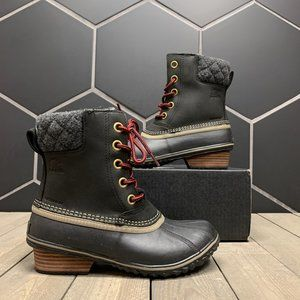 Womens Sorel Slimpack Lace Waterproof Snow Boots